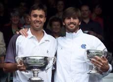 Tennis: Player's doubles vision pays off at Wimbledon