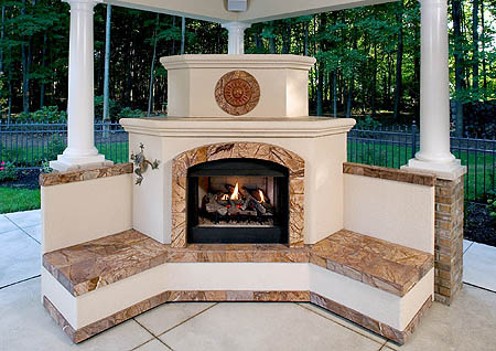 Patio Fire Pit Table Costco Options for outdoor fireplaces let you think big or small | Pittsburgh ...