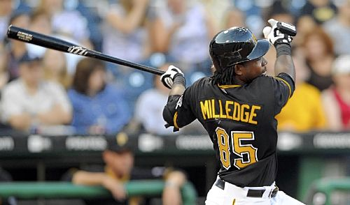 Expect a big 2010 season for Lastings Milledge.